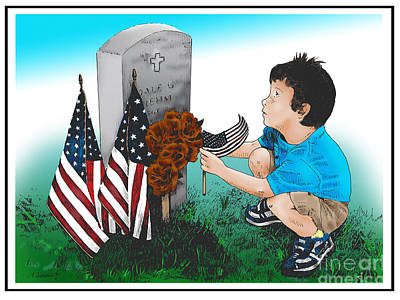 Memorial Day Mixed Media - My Tribute by Joseph Juvenal