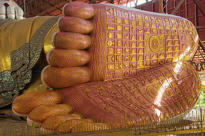 Buddhism Photograph - Myanmar Yangon Chauk Htat Gyi Pagoda by Inger Hogstrom