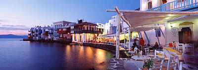 Mykonos, Greece Art Print by Panoramic Images