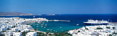 Mykonos Island Greece Print by Panoramic Images