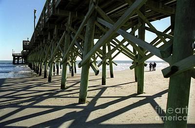 Photograph - Myrtle Beach Pier by Allen Beatty