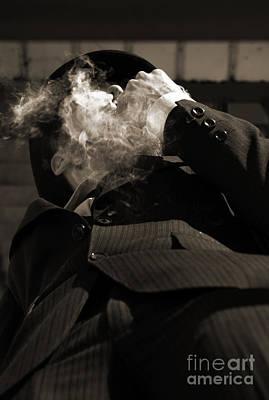 Inhale Photograph - Mysterious Miasma Man by Jorgo Photography - Wall Art Gallery