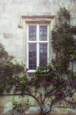 Old Windows Photograph - Mysterious Window by Joana Kruse