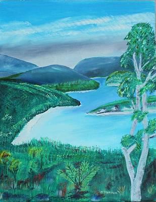 Mystical Island Art Print