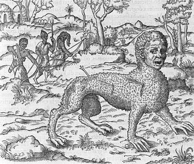 Mythical Creature, 16th Century Art Print by Science Photo Library