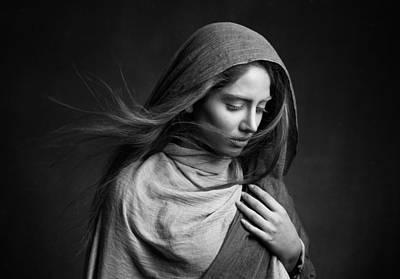 Veils Photograph - Nafas by Mehdi Mokhtari