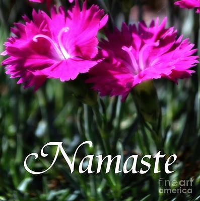 Whiteoaks Photograph - Namaste by Eva Thomas