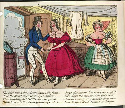 Nancy Dawson Art Print by British Library