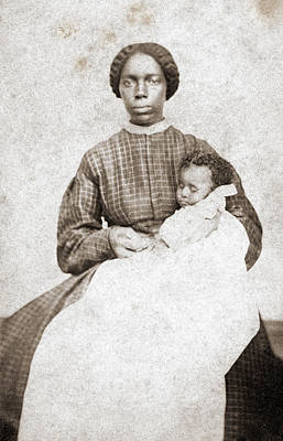 Photograph - Nanny & Child, C1865 by Granger
