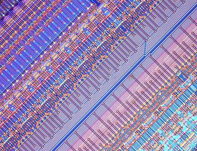 Microchip Photograph - Nanoprecision Inkjet Print Head by Alfred Pasieka