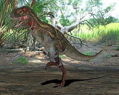 Paleozoology Photograph - Nanotyrannus Dinosaur by Friedrich Saurer