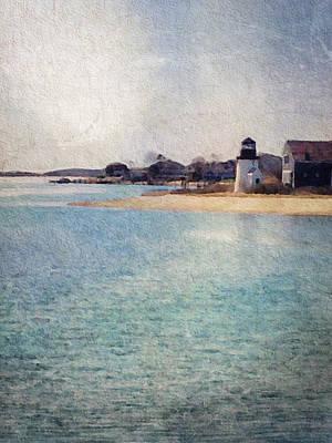 New England Lighthouse Digital Art - Nantucket by Christine OBrien
