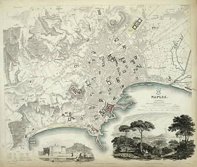 Naples Art Print