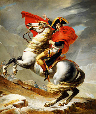 Painting - Napoleon Crossing The Alps by Celestial Images