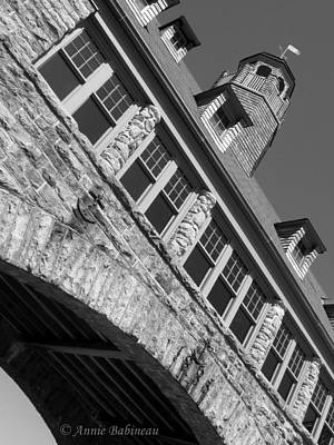 Photograph - Narragansett Towers by Anne Babineau