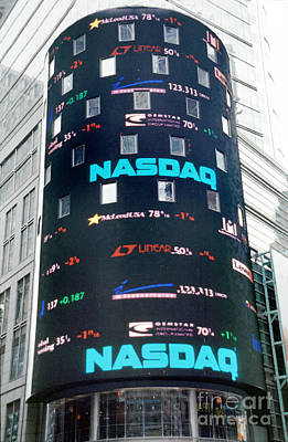 Nasdaq Building  Art Print