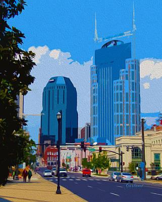 Nashville Daytime Art Print