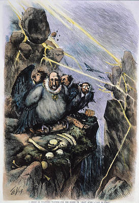 Employer Painting - Nast Boss Tweed, 1871 by Granger
