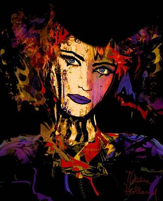 Mixed Media - Natasha by Natalie Holland