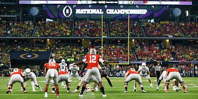 Ohio Photograph - National Championship - Oregon V Ohio by Kevin C. Cox
