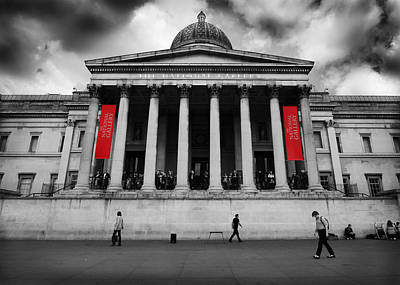 Photograph - National Gallery London by Ed Pettitt