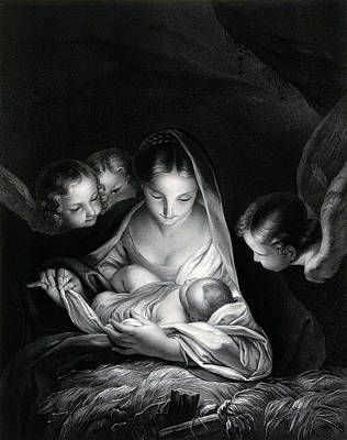 Nativity Of Jesus Art Print by Wellcome Images