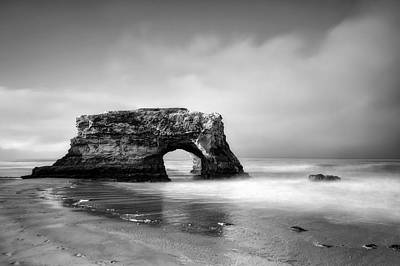Natural Bridges State Beach Photograph - Natural Bridges State Beach by Chris Frost
