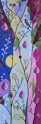 Art Print featuring the painting Nature's Bounty by Kathleen Sartoris