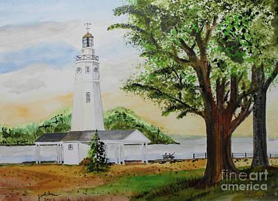 Neenah Light House Art Print