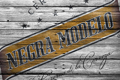 Cans Photograph - Negra Modelo by Joe Hamilton