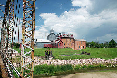 Historic Site Photograph - Neligh Mill by Jim West