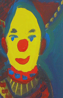 Animation Drawing - Nelly's Clown by Don Koester