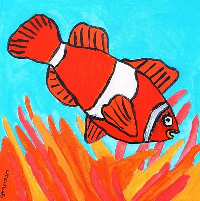 Nemo Art Print by Artists With Autism Inc