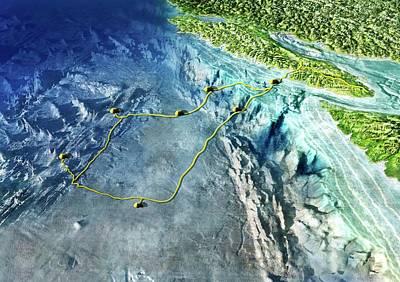 Neptune Island Photograph - Neptune Ocean Observatory by Nicolle R. Fuller