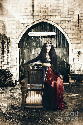 Photograph - Netherworld Queen Stuck In Never Never Land by Jorgo Photography - Wall Art Gallery