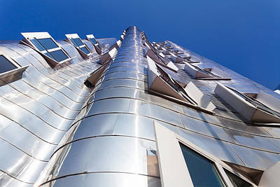 Frank Gehry Photograph - Neuer Zollhof Building Designed by Panoramic Images
