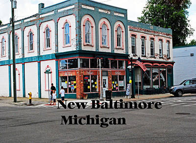 Photograph - New Baltimore Michigan by Gary Wonning