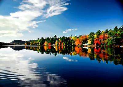 Photograph - New England by Bill Howard