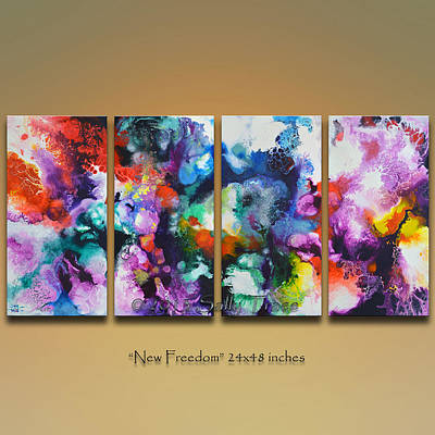 Painting - New Freedom  by Sally Trace