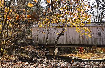Photograph - New Jersey Covered Bridge by Elsa Marie Santoro