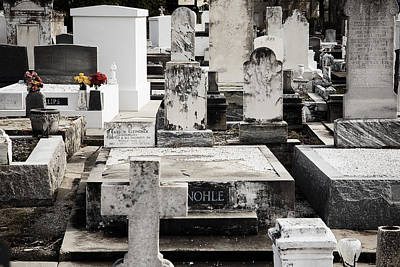 New Orleans Cemetery Iv Art Print by Chris Moore