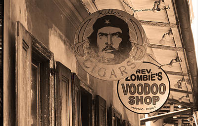 Voodoo Shop Photograph - New Orleans Shops 3 by Frank Romeo