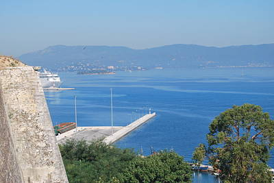 Photograph - New Port Corfu by George Katechis