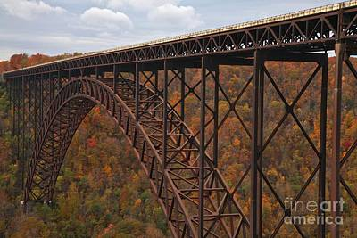 Photograph - New River Gorge Bridge by Adam Jewell