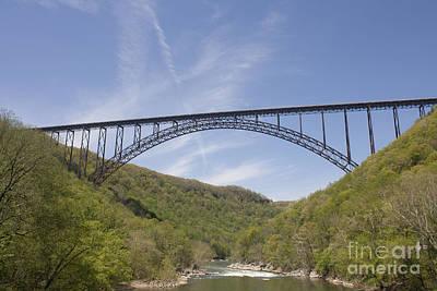 New River Gorge Bridge Print by Teresa Mucha
