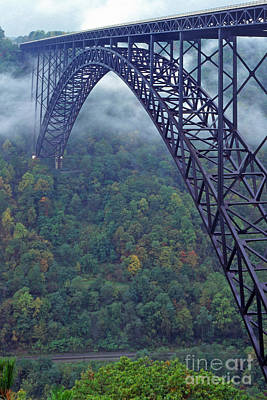 New River Gorge Bridge Art Print by Thomas R Fletcher