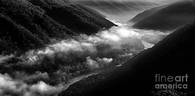 New River Gorge National River Art Print by Thomas R Fletcher