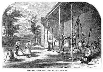 New York Bell Foundry Art Print by Granger