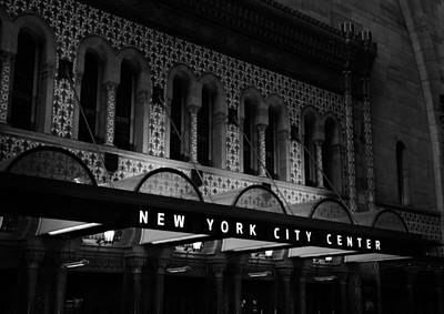 New York City Center Art Print by Dan Sproul