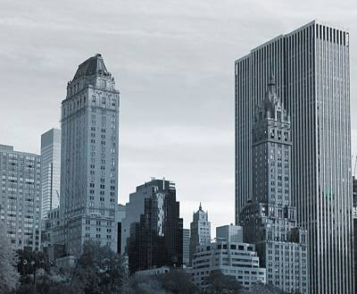 New York City From Central Park Art Print